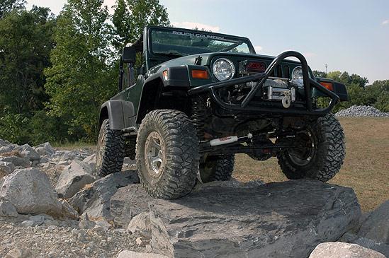 4u2033 Series II Suspension Lift Kit For 97 06 Jeep TJ ...