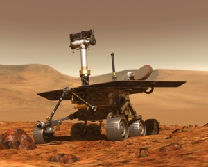 Planet Mars and the Lander