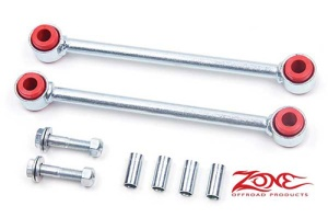 "Rear Sway Bar Links for 2007-Up Wrangler JK with 4"" Lift by Zone Offroad"