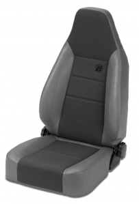 Front Trailmax High-Back Fixed Position Bucket Seat for Jeep 1976-02 CJ & Wrangler